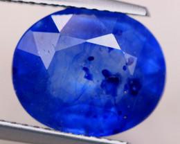 6.69ct Ceylon Blue Sapphire Oval Cut Lot Z509