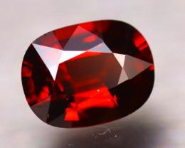 Rhodolite 1.62Ct Natural VVS Cherry Red Rhodolite Garnet D0103/B3