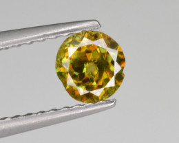 Natural Color Changing Chrome Sphene 0.44 Cts from Skardu, Pakistan