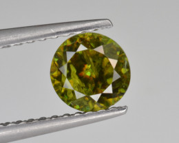 Natural Color Changing Chrome Sphene 0.77 Cts from Skardu, Pakistan