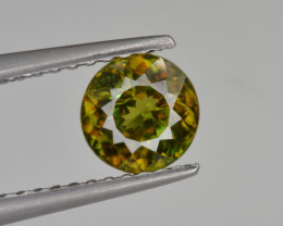 Natural Color Changing Chrome Sphene 0.95 Cts from Skardu, Pakistan