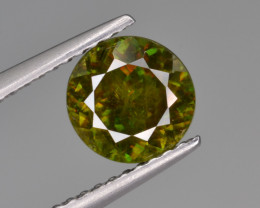 Natural Color Changing Chrome Sphene 1.36 Cts from Skardu, Pakistan