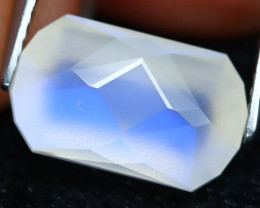 Blue Moonstone 4.62Ct Master Cut Natural Ceylon Blue Moonstone A2817