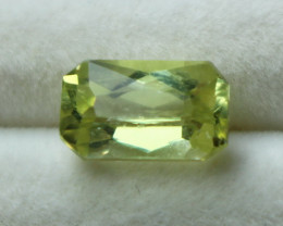 3.60 CT Natural - Unheated Yellow Triphane Gemstone