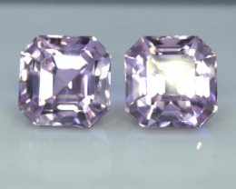 13.25 Carats Natural Pink Color Kunzite Calibrated pair Gemstone From Afgha