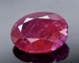 2.02 Crt Ruby  Faceted Gemstone (Rk-70)
