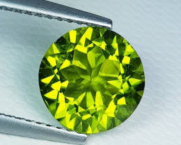 4.54ct Top Quality Round Cut Top Luster Natural Peridot