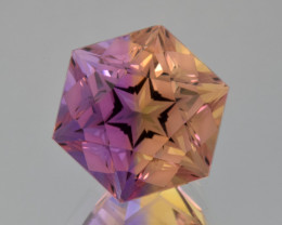Natural Bolivian Ametrine 11.27 Cts Perfectly Cut Gemstone