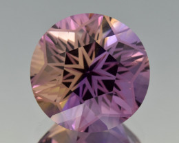Natural Bolivian Ametrine 12.06 Cts Perfectly Cut Gemstone