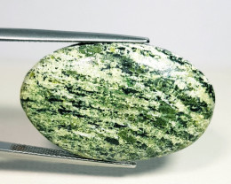 29.90 ct Natural Green Suzi Opal Oval Cabochon  Gemstone