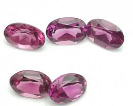 Rhodolite parcel, 2.835ct, beautiful clean little gems!