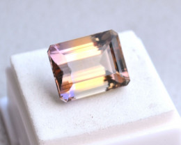 17.53 Carat Octagon Cut Old Stock Bolivian Ametrine