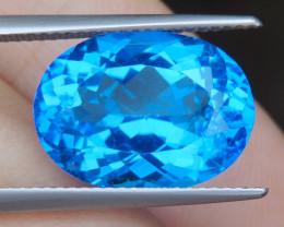 10.67cts, Cobolt Blue Topaz,