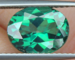 3.30cts, Green Topaz,