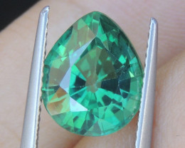4.63cts, Green Topaz,
