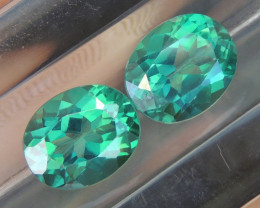 6.90cts, Green Topaz,