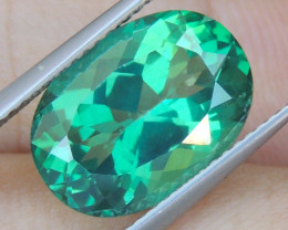 7.68cts, Green Topaz,