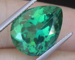 10.05cts, Green Topaz,