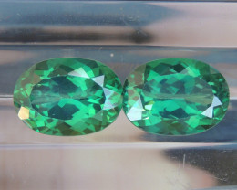 14.96cts, Green Topaz,