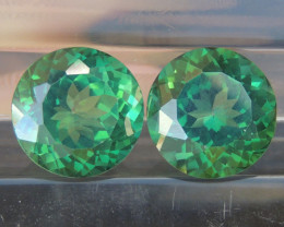 19.14cts, Green Topaz,