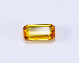 3ct Lab Certified Natural Orange-Yellow Sapphire