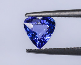 1.34ct Lab Certified Natural Tanzanite