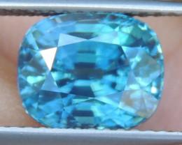 4.62cts, Blue Zircon,