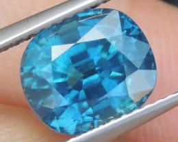 4.92cts, Blue Zircon,
