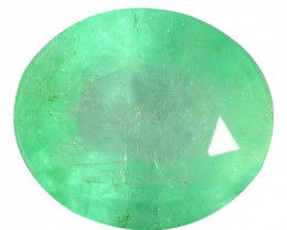 2.20 Cts Natural Rich Green Colombian Emerald Loose Gemstone