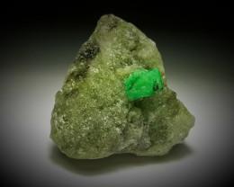 Amazing Natural color Damage free Gemmy Emerald specimen 80Cts-P