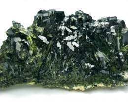 Amazing Natural color Damage free Lovely Epidote Cluster with supreme luste