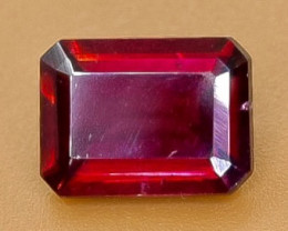 1.88 Crt Natural Rhodolite Garnet Faceted Gemstone.( AB 95)