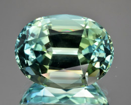 Extremely Unique Color Natural Green Topaz 36.59 Cts Perfect Precision Cut
