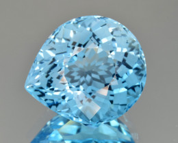 Natural Blue Topaz 24.20 Cts Perfect Precision Cut