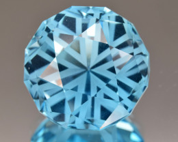 Natural Blue Topaz 27.47 Cts Perfect Precision Cut