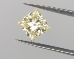 0.47 CTS , Rare Diamond  , Square Brilliant cut ,  Real Diamond