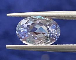 GIL Certified 2.44 ct  Rare color  Tanzanite Gemstone