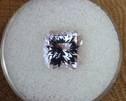 7,00ct Rose de France Amethyst - Master cut & art deco look!