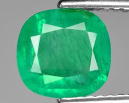1.68 Cts Natural Vivid Green Colombian Emerald Loose Gemstone