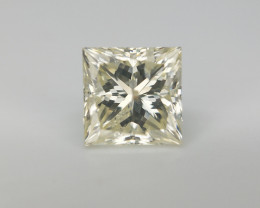 0.81 CTS , Light Yellow Diamond , Solitaire Diamond , Princess Solitaire