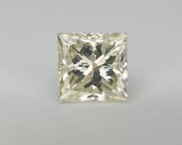 0.81 CTS , Light Yellow Diamond , Solitaire Diamond , Princess Solitaire
