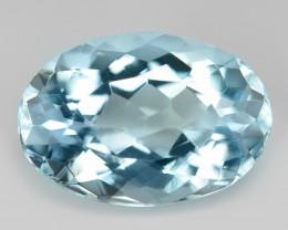 2.11 cts Un Heated  Sky Blue Color Natural Aquamarine Loose Gemstone