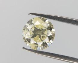 0.37 cts , Round Brilliant Diamond , Conflict Free Diamond