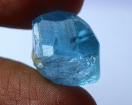 20 CT Natural - Beautiful Blue Topaz Crystal
