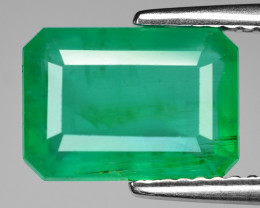 *NoReserve*Colombian Emerald 2.24 Cts Natural Vivid Green Gemstone