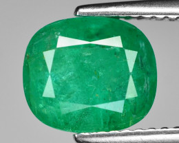 2.48 Cts Natural Vivid Green Colombian Emerald Loose Gemstone