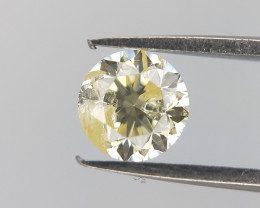 0.31 CTS , Brilliant Cut Diamond , Genuine Round Diamond.