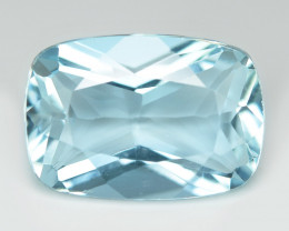 5.24 cts Un Heated  Sky Blue Color Natural Aquamarine Loose Gemstone