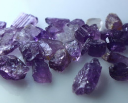 53.30 CT Natural - Unheated Purple Scapolite Rough Lot