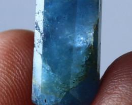 12.45 CT Natural - Unheated Blue Aquamarine Handmade Crystal